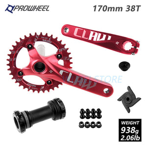 Prowheel MTB 104BCD Crankset 170/175mm 30-38T with Bottom Bracket