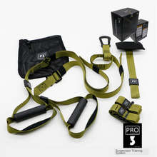 Load image into Gallery viewer, Fitness Suspension Exercise Trainer Resistance Bands Pro 3 Home Gym