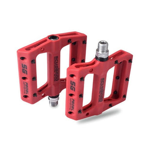 MTB Ultra Light Bicycle Pedals Nylon Big Foot