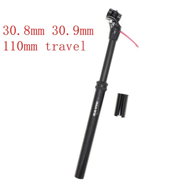 MTB 110mm Dropper Seatpost Adjustable Height Remote Control/Manual