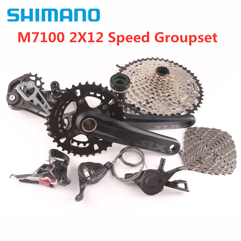 SHIMANO SLX M7100 2x12Speed 10-45T Groupset