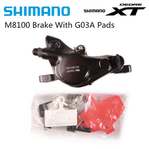 SHIMANO DEORE XT M8100 MTB Disc Brake Caliper with Pads