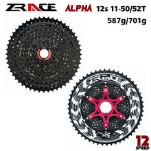 Load image into Gallery viewer, 12x Speed MTB Lightweight Cassette 11-50T/52T ZRACE Alpha