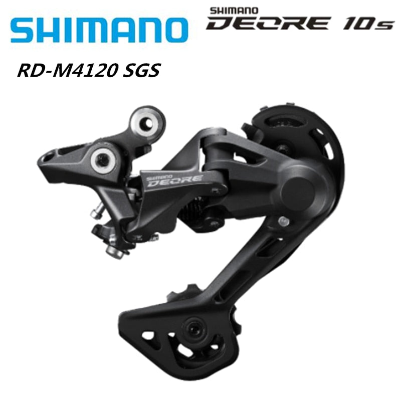 SHIMANO DEORE RD-M4120 SGS Rear Derailleur SHADOW RD 2x10/11-speed