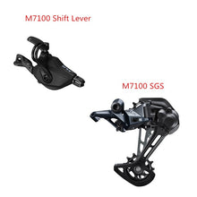 Load image into Gallery viewer, SHIMANO SLX M7100/M7120 12x Speed Rear Derailleur + Shift Lever
