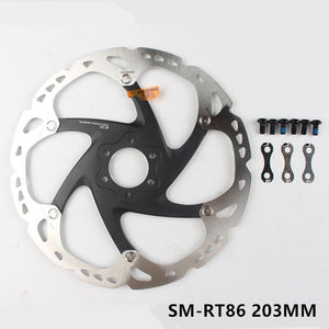 SHIMANO Deore XT RT86 Disc Brake Rotor 6 Bolt Ice Point Tech