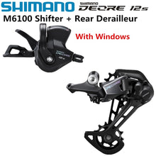 Load image into Gallery viewer, SHIMANO DEORE RD-M6100 Groupset 12x Speed Rear Derailleur + Shifter