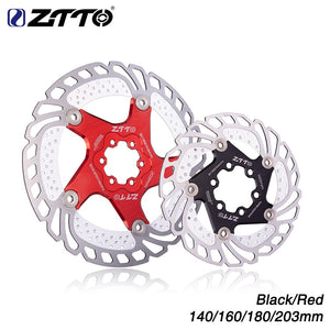 MTB Cooling Brake 6 Bolts Floating Rotor 140mm - 203mm