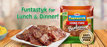 Load image into Gallery viewer, CDO Funtastyk Young Pork BBQ 225g