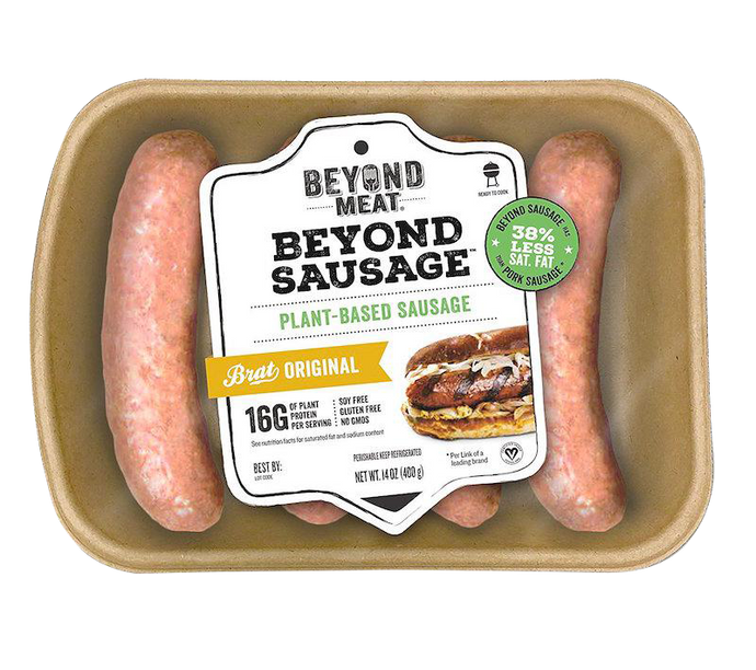 Beyond Meat Beyond Sausage plant based healthy vegan