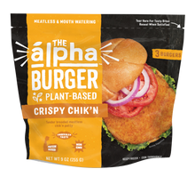 Load image into Gallery viewer, Alpha Crispy Chik'N Patty 255g