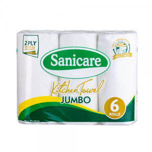 Sanicare Kitchen Towel, 6 rolls
