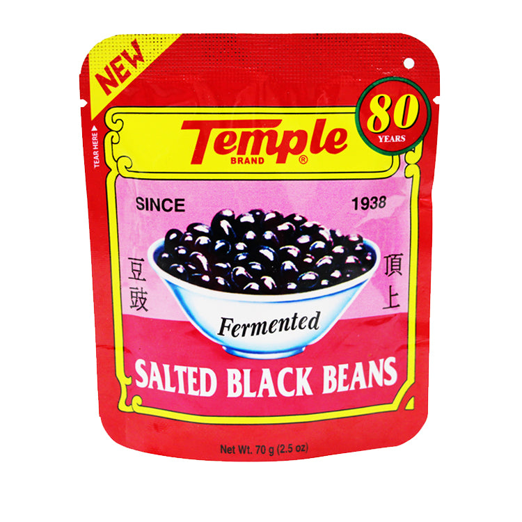 Temple Salted Black Beans 70g