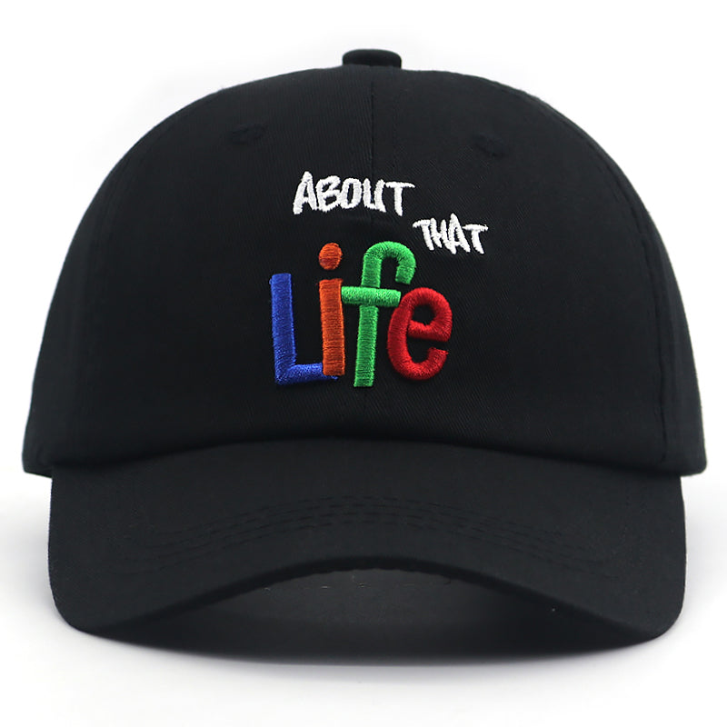 About That Life Svart Dad Hat