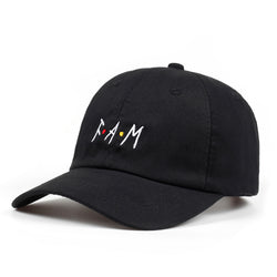 F.A.M Svart Adjustable Dad Hat