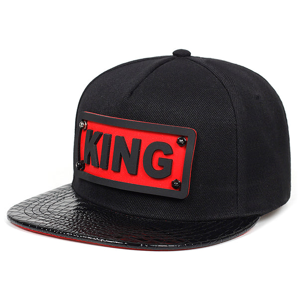 KING Alligator Svart Snapback