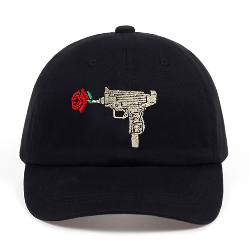 UZI Flower Svart Dad Hat