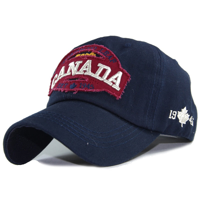 Toronto Leaf Vintage Navy Adjustable