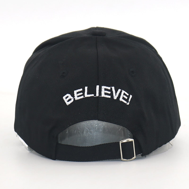 Believe Alien Svart Dad Hat