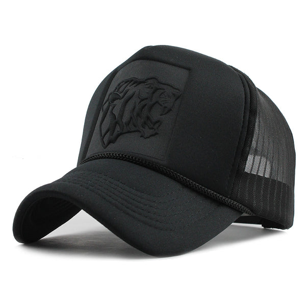 Black Tiger Mesh Svart Truckerkeps