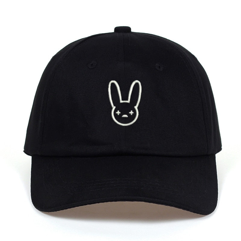 Bad Bunny Svart Dad Hat