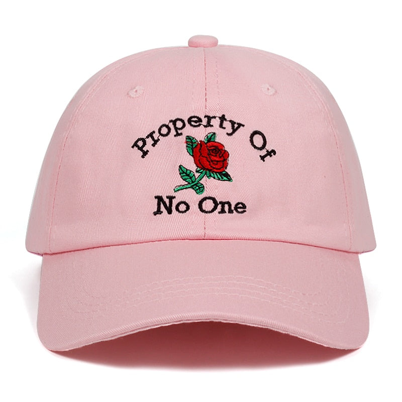 Property Of No One Dad Hat