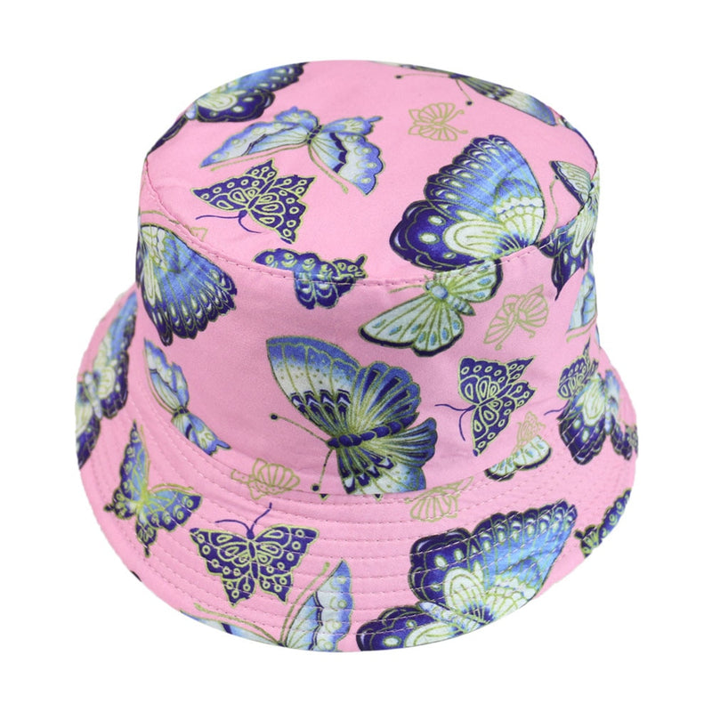 Blue Butterflies Foldable Rosa Bucket
