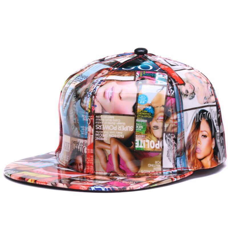 Glam Magazine Covers Snapback