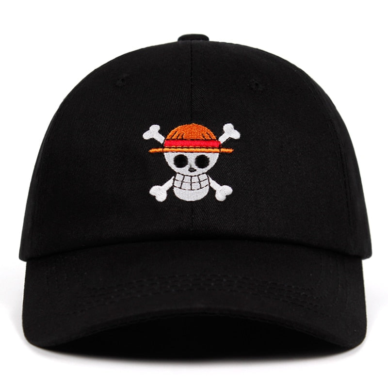 One Piece Pirate Svart Dad Hat