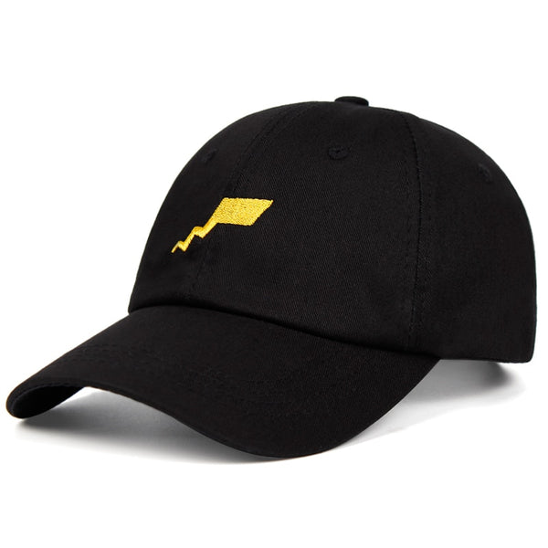 Pikachu Lightning Tail Dad Hat
