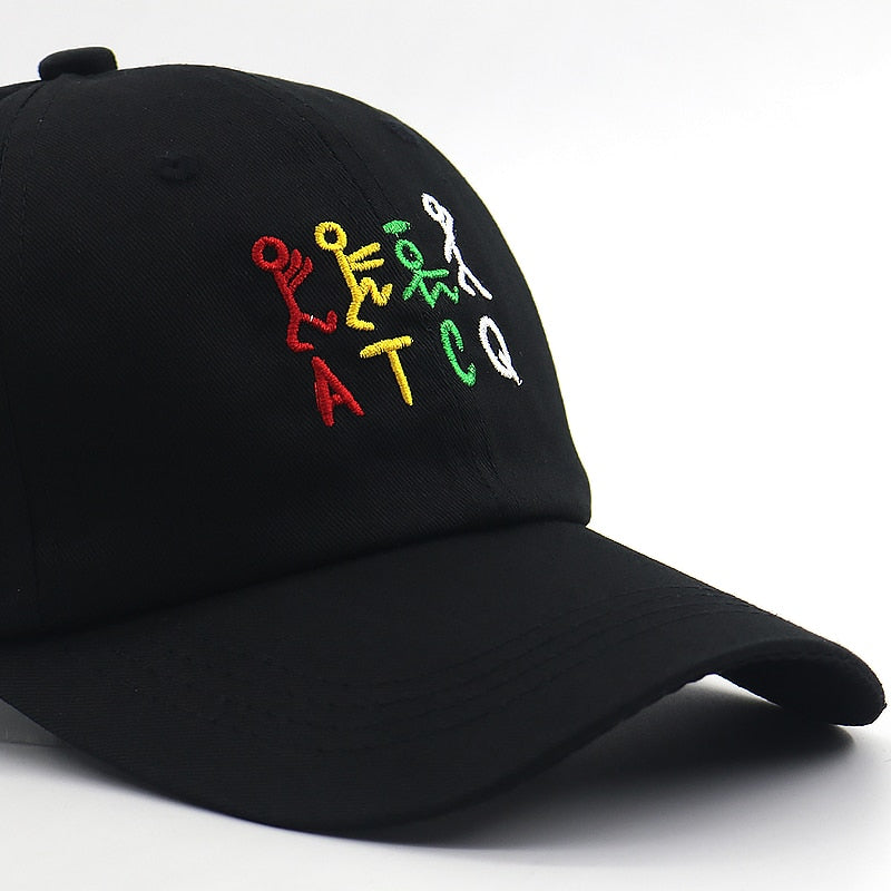 ATCQ Svart Adjustable Dad Hat