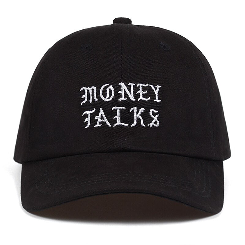 Money Talks Svart Dad Hat