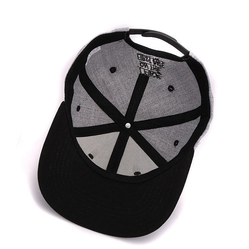 F*ck On The First Date Grå Snapback
