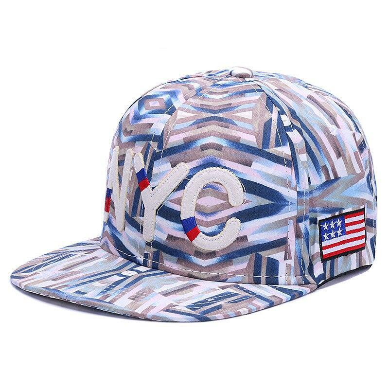 New York City Blå Snapback