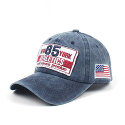 85 Athletics Navy Washed Adjustable