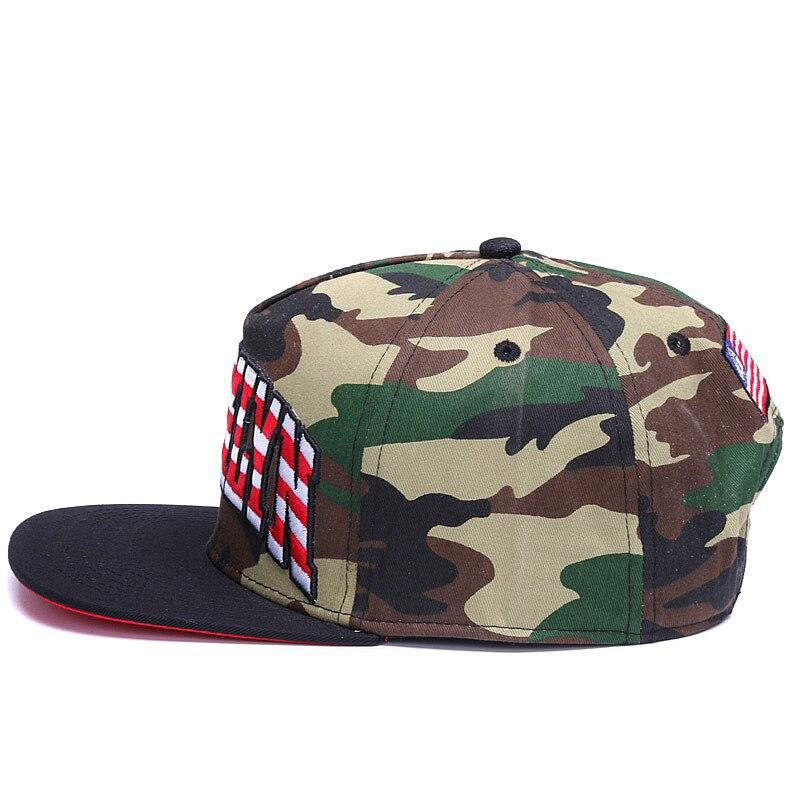 Brooklyn Flag Camo Snapback