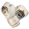 Premium Boxing Gloves in White
