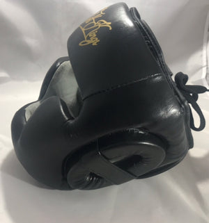 Premium Training Head Guard in Black