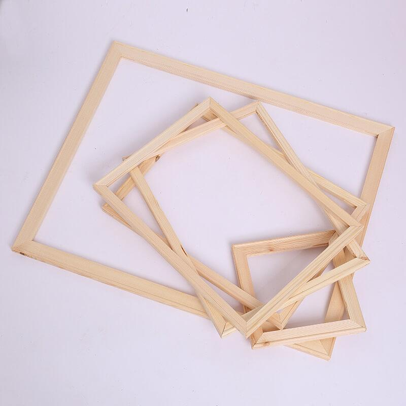 Wooden Frame - Picture Frame - Wooden Wedge Frame