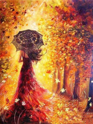 DIY Artwork - Autumn Woman
