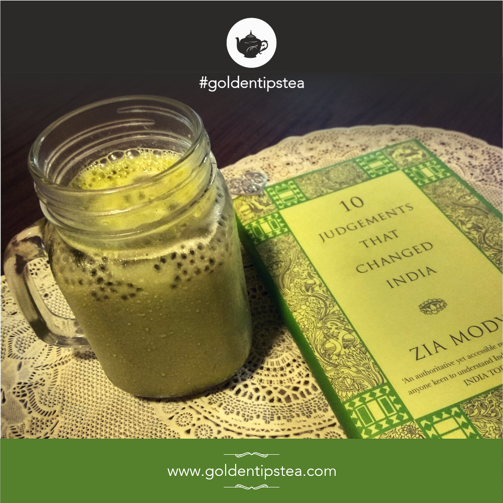 How to Prepare Matcha Iced Tea using finest Golden Tips Matcha Powder?