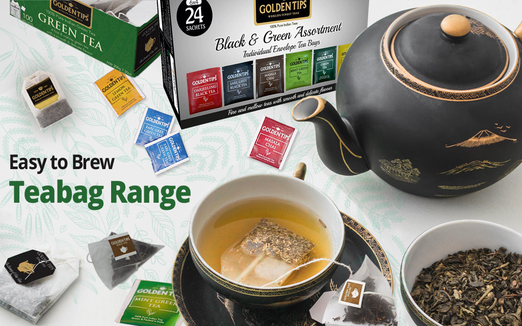 easy to brew teabag range