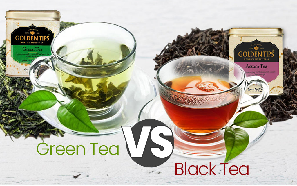 green tea vs black tea