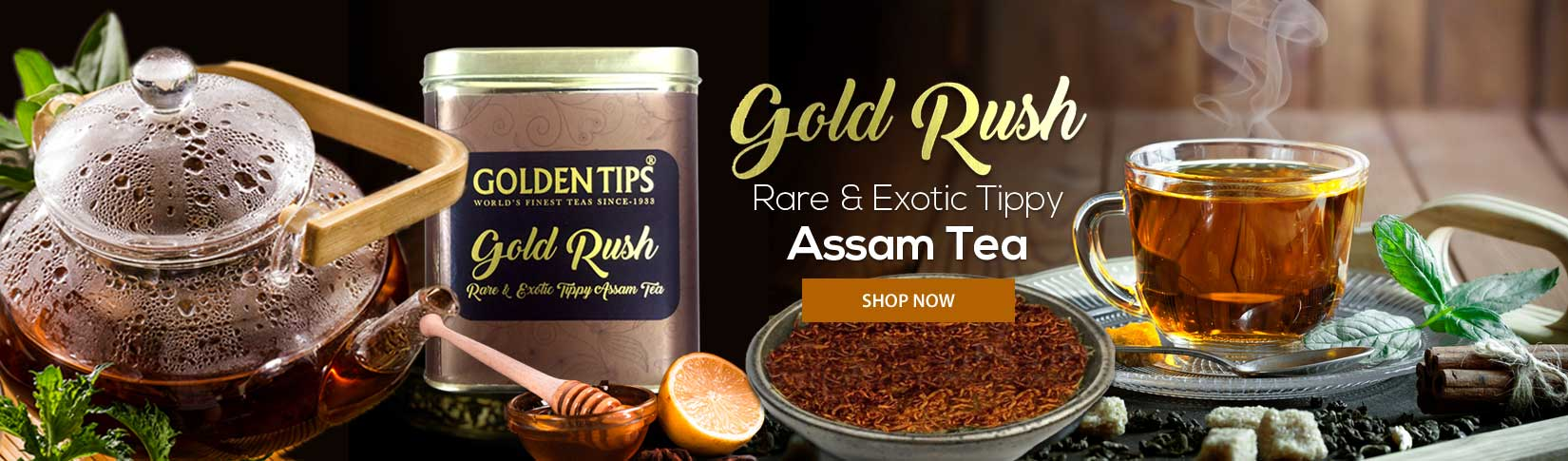 Gold Rush Assam Tea