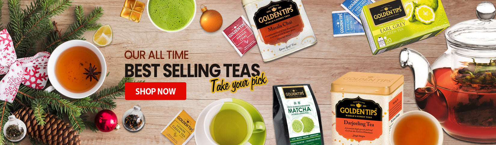 Our all time best selling teas