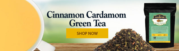 Cinnamon cardamom green-tea