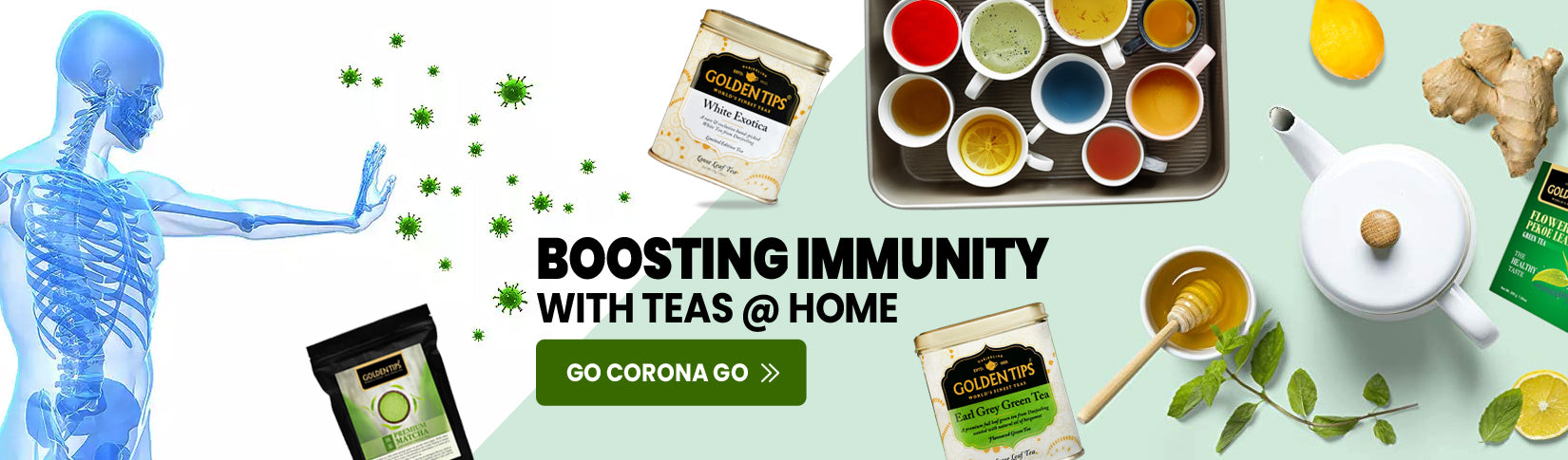 boasting immunity with teas home go corona go