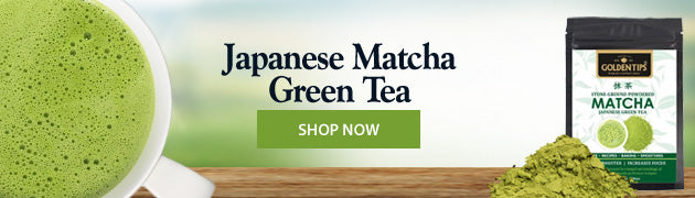 Japanese matcha green-tea