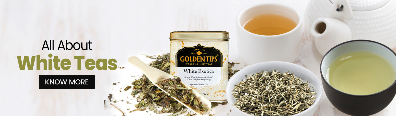 all about white teas