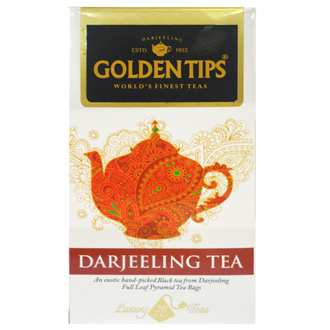 Darjeeling Full Leaf Pyramid - 20 Tea Bags, 40g